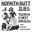 Athens出演!『NOFAITH BUTT 2LIES vol.8』開催決定!!!